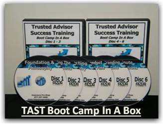 Trusted Adviser Success Training Boot Camp In A Box