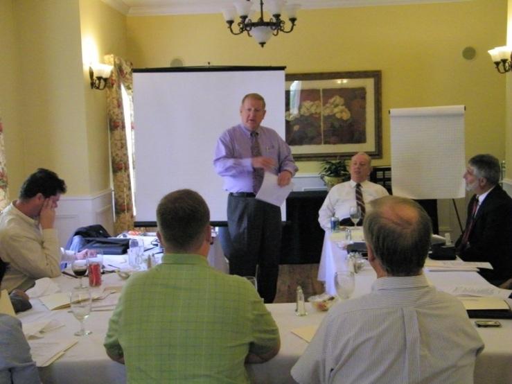 Wally Cato  at the Trusted Advisor Success Training at the Insurance Pro Shop... Financial Advisor Training
