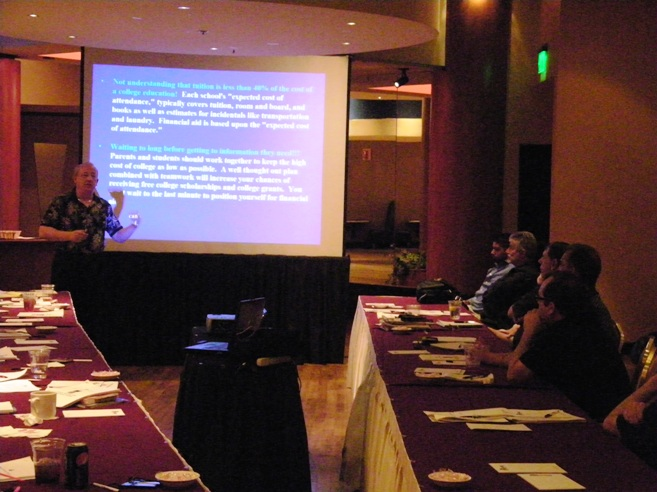 Lew Nason Presents College Funding Strategies in Las Vegas