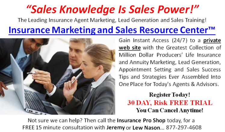 Insurance Marketing & Sales Resource Center