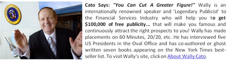 Forrest Wallace Cato - Pubisist To The Financial Services Industry
