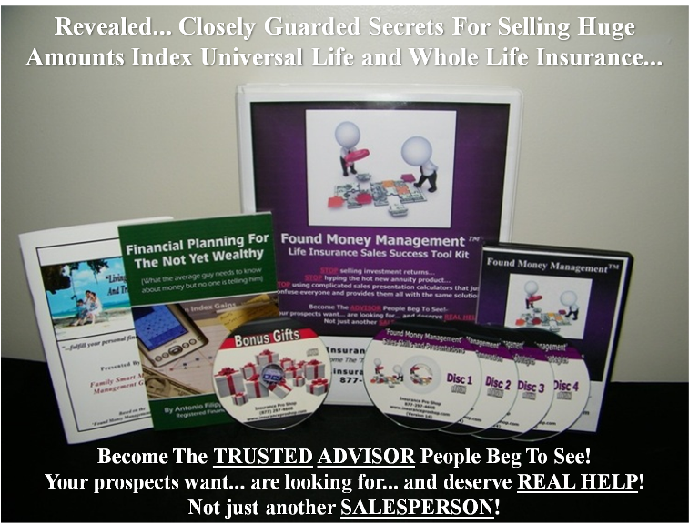 Found Money Management™ - Life Insurance Marketing And Sales Training - System