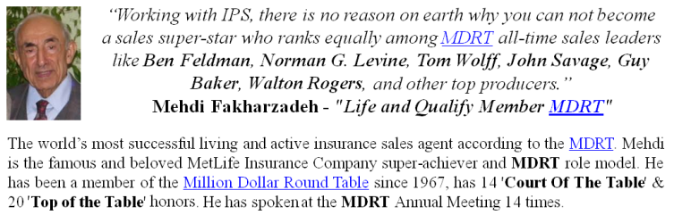 Mehdi Fakharzadeh Endorses The Insurance Pro Shop