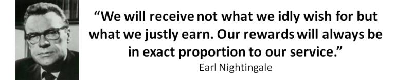 Earl Nightin Quote